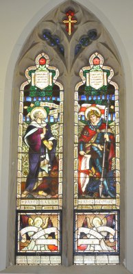 St Johns WWI Memorial Window